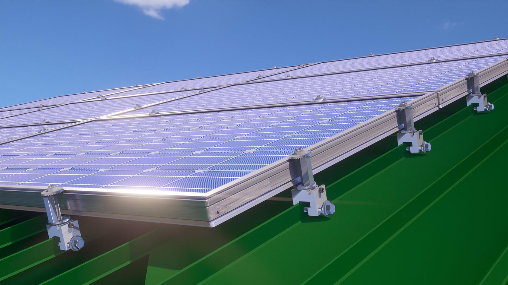 Solar panel mounts for metal roof | Standing seam solar clamps