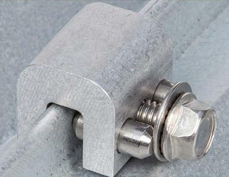 Aceclamp 174 A2 174 Strong Roof Clamp For Wind Uplift And
