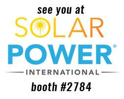 AceClamp® is showcasing their fast-installing solar mounting clamps at SPI in Anaheim California later this month!