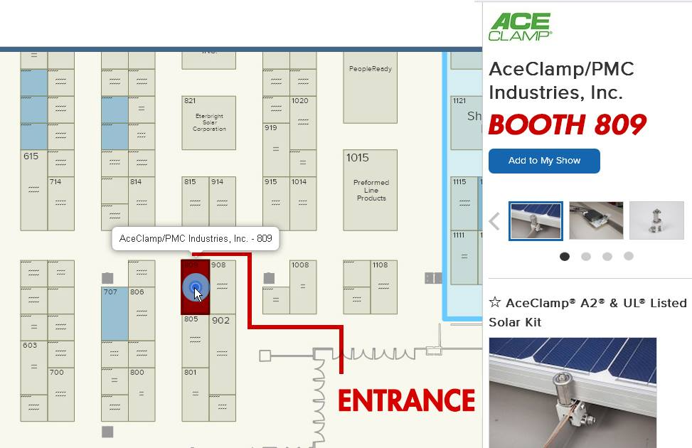 Aceclamp To Exhibit And Showcase Their Solar Pv Kit