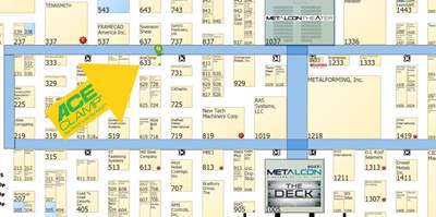 AceClamp® at MetalCon 2018, Booth #633.