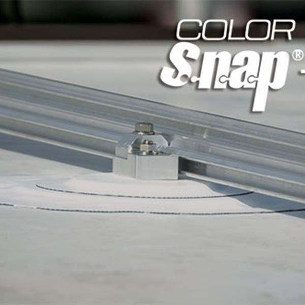 New AceClamp® Color Snap®-M Snow Retention System for low-slope, single-ply membrane roofs will be displayed at the IRE March 1st-3rd.