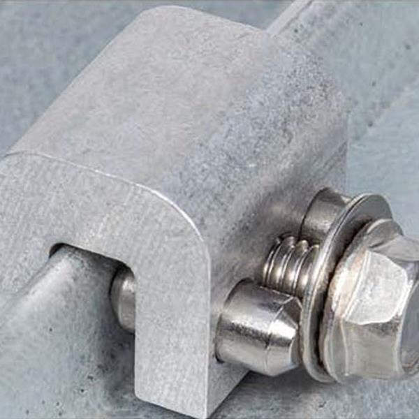AceClamp® A2® Strong Roof Clamp for Wind Uplift and Seismic Vibration