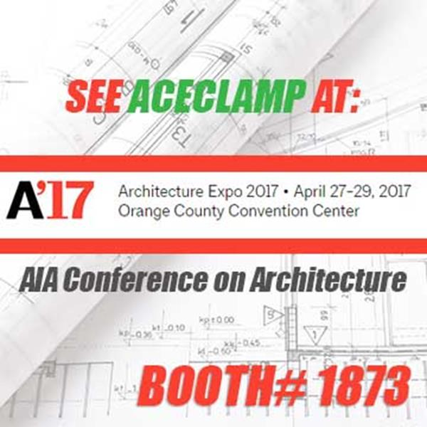 AceClamp is launching their new product line at AIA in Orlando, April 27th-29th.