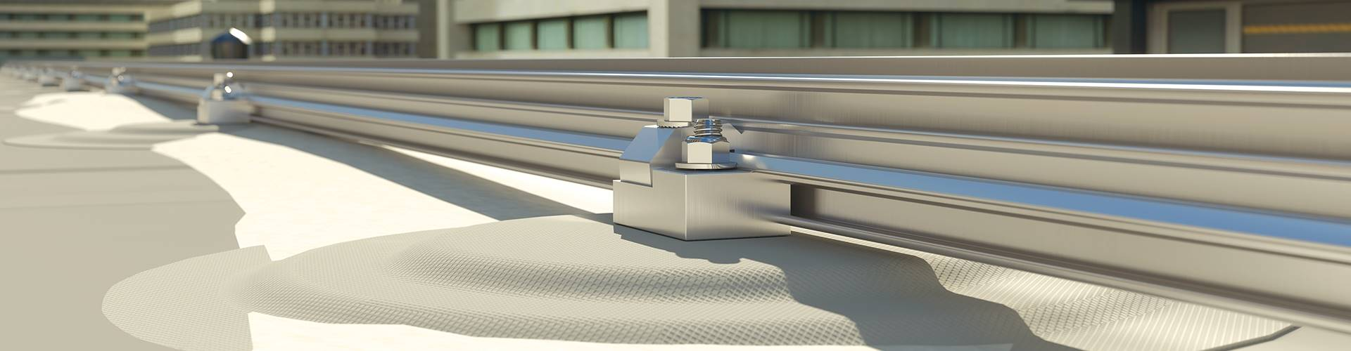 Snow Guards for Membrane Roofing - ColorSnap-M®