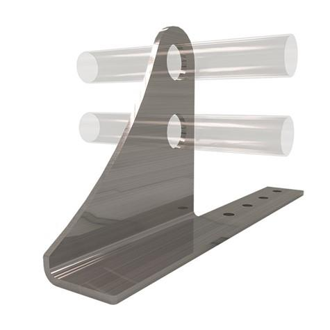 AceClamp Snow Bracket: 2 Bar, Heavy Duty, Elongated Offset