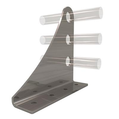 AceClamp, Snow Bracket: 3 Rail (Heavy Duty)