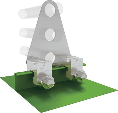 AceClamp, A2® Clamp Assembly: 2 Clamp, 3 Rail
