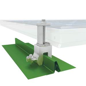 Solar Panel Mounts For Metal Roof Standing Seam Solar Clamps