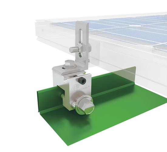 AceClamp A2® Standing Seam Solar L-Foot Bracket