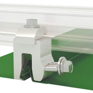 A2-Nw Color Snap Metal Roof Snow Rail System