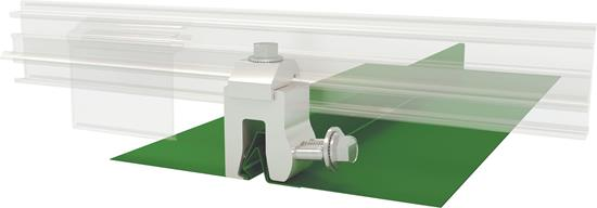 AceClamp Color Snap® A2®-NW Snow Rail System