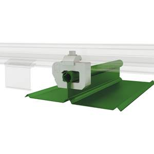 A2-ML Color Snap Metal Roof Snow Rail System