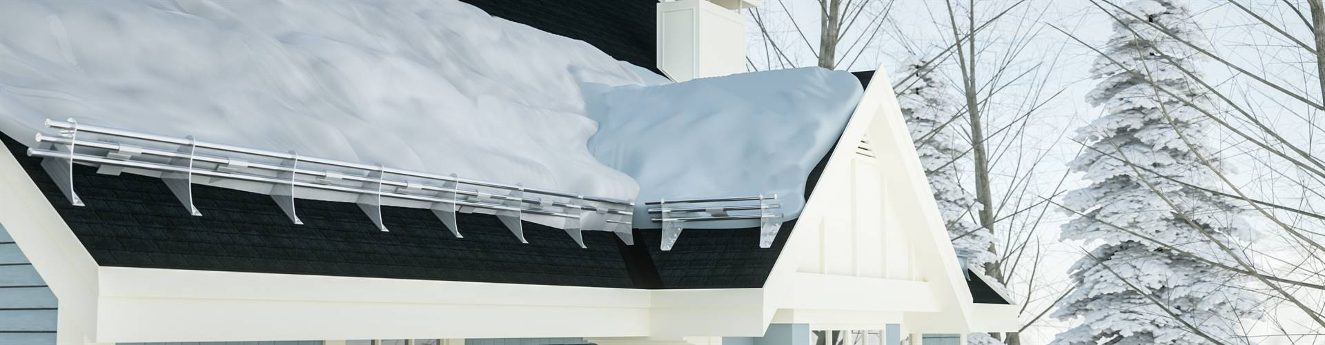 Snow Guards for Asphalt Shingle Roofing