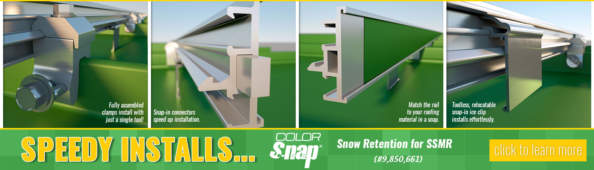 Snow Retention Solutions for SSMR and Membrane Roofs