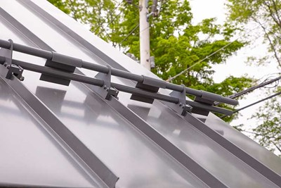 Precision roof snow guards by AceClamp | Snowguards